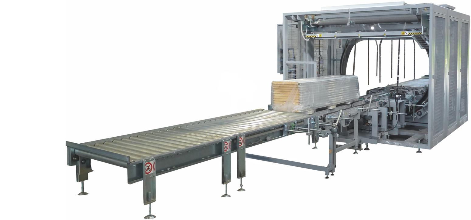 Automatiniai horizontalaus apvyniojimo įrenginiai