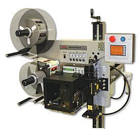 Lipnių etikečių spausdinimo ir užklijavimo įrenginiai